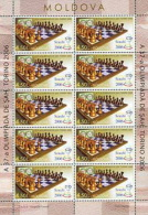 MOLDOVA 2006 SPORT Chess Olympiad In TURIN - Fine Sheet MNH