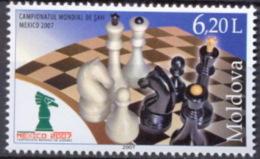 MOLDOVA 2007 SPORT World Cup Of CHESS - Fine Set MNH