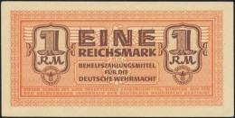 Deutschland, Germany - 1 Reichsmark, Deutsche Wehrmacht, Ro. 505, 1942 ! - Ohne Zuordnung