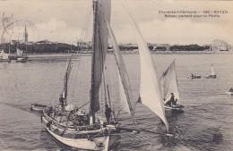 A5 - 17 - Royan - Charente-Maritime - Bateau Partant Pour La Pêche - N° 190 - Royan