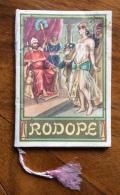 CALENDARIETTO DA BARBIERE 1953 OPERA LIRICA RODOPE - Calendari