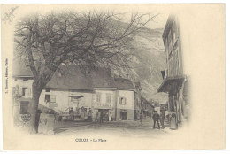 Cpa Culoz - La Place  ((S.626)) - France