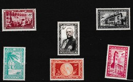Albert 1er Cinquantenaire Naissance - Poste Aérienne