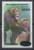 Tanzania 2010? Wild Animals Of Tanzania Chimpanzees Affen Apes Singes Chimpanzé 500 - 400 Sh RARE MNH** - Tanzanie (1964-...)
