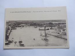 LES SABLES D´OLONNE (85) - Panorama Du Port Vue Prise De La Chaume 2 - Sables D'Olonne