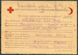 1946 Russia Germany Gefangenenpost. Prisonnier De Guerre POW Postcard - Berlin