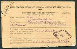 Russia Germany Gefangenenpost. Prisonnier De Guerre POW Postcard - Hamburg