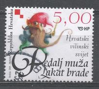 Croatia 2005. Scott #573b (U) Fairy Tale Character: Dwarf Pedalj Muza Lakat Brade * - Croatie