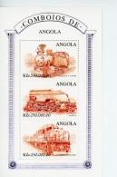 Angola 1997-Locomotives-YT 1106/8***MNH
