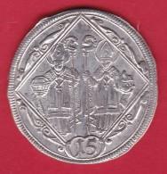 Autriche - Salzbourg - 15 Kreuzer 1694 - Argent - Léger Voile - Oesterreich