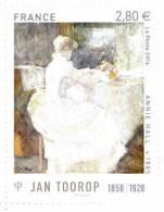 FRANCIA ARTE - JAN TOOROP - ANNO 2016 - FRANCIA QUADRI - ART DE FRANCE - 1858 - 1928 - Frankrijk