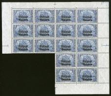 A4306) AD Bayern Fast Kpl. Bogen Mi.149B (16) ** Postfrisch Unused MNH