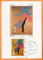 67 STRASBOURG   1988    ARP LA DANSEUSE   Carte N° O 910