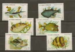 SAO TOME AND PRINCIPE 1979, Fish