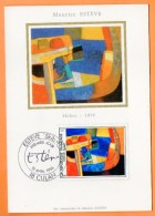 18 CULAN   1986   MAURICE ESTEVE SKIBET   Carte N° O 911