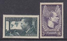 France 1937 Mermoz 2v ** Mnh (33114K)