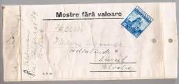 Romania, For Zurich - 1948-.... Republiken