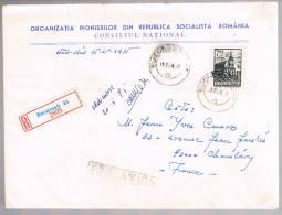 Romania, For Chambery - 1948-.... Republiken