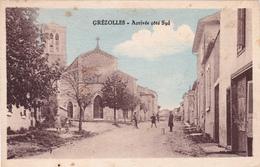CPA (42) GREZOLLES Arrivée Côté Sud - Frankreich