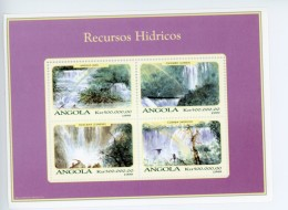 Angola 1999-Chutes D´eau,ressource Hydraulique-YT 1268/71***MNH