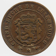 Luxembourg - 5 Centimes, 1860 A Rare !!! - Luxemburgo