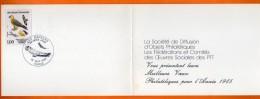 PARIS  1984   GYPAETE BARBU   Carte N° O 919