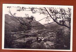 1 Cpa Panorama De La Vallee Du Louron - Autres Communes