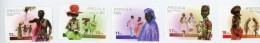 Angola 2001-Danses Et Costumes-YT 1511/15+B96***MNH