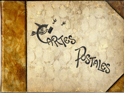 ALBUM CARTES POSTALES ANCIEN   -  38 PAGES - Matériel