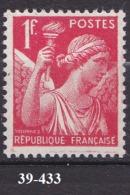 FRANCE ANNEE 1939 N° 433 NEUF***