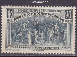FRANCE ANNEE 1939 N° 444 NEUF***