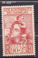 FRANCE ANNEE 1939 N° 428 NEUF***