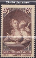 FRANCE ANNEE 1939 N° 446 NEUF Charniere Ou Trace