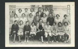 Cpa Photo , Datée Au Dos Et Signée Par Des élèves En 1934, Ecole Se Trouvant Actuellement Rue Des Ursulines - Obe0302