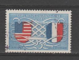 FRANCE / 1949 / Y&T N° 840 : Amitié Franco-américaine - Choisi - Cachet Rond
