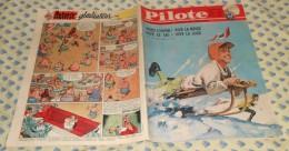 Pilote. N° 163 (06/12/1962) Complet. Voici L'hiver! Vive La Neige! Vive Le Ski! Vive La Luge! - Pilote