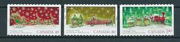 2004 Canada Complete Set Christmas,kerst,noël,weihnachten Used/gebruikt/oblitere