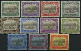 ST. KITTS-NEVIS 52-62 *, 1923, 300. Jahrestag Der Gründung Der Kolonie, 11 Prachtwerte, Mi. 150.-