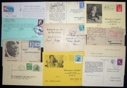 UNO 1951-69, UN-Peditionskarten, 11 Verschiedene Karten Aus 9 Ländern, Fast Nur Pracht