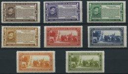 SAN MARINO 184-91 *, 1932, Garibaldi, Falzrest, Prachtsatz