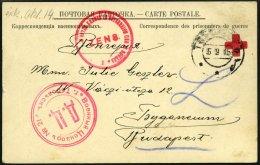 RUSSLAND 1915, Vordruck-Korrespondenzkarte Eines Ungarischen Kriegsgefangenen Aus Dem Russischen Kriegsgefangenenlager T