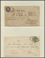 GANZSACHEN Interessante Partie Von 28 Gebrauchten Ganzsachen Von 1861-1883, Dabei Einige Bessere!, Meist Feinst/Pracht,