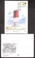 Lighthouses  2016 Estonia Stamp Maxicard Virtsu Lighthouse