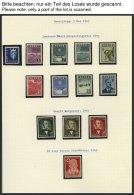 SAMMLUNGEN, LOTS **,Brief, BrfStk, Wohl Komplette Postfrische Sammlung Norwegen Von 1945-96 In 5 SAFE-Alben, Dabei Schwa