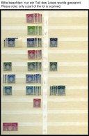 DIENSTMARKEN **,*,o , Kleine Partie Dienstmarken Von 1926-44, Fast Nur Prachterhaltung