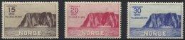 NORWEGEN 159-61 *, 1930, Nordkap, Falzrest, Prachtsatz