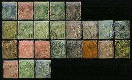 MONACO O,* , 1885-1901, Kleines Lot Von 24 Werten, Etwas Unterschiedlich, Mi. 1548.-