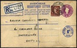 BRITISCHE MILITÄRPOST 321 BRIEF, 1959, 2 P. Hellbraun Mit K2 FIELD POST OFFICE/978 Auf Militärpost-Einschreibb