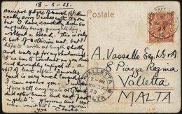 BRITISCHE MILITÄRPOST 129 BRIEF, 1923, 11/2 P. König Georg V Mit K1 FIELD POST OFFICE/No. 12, Militärbase