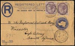 GROSSBRITANNIEN 65 BRIEF, 1901, 1 P. Königin Victoria Mit K2 ARMY POST OFFICE/B/ELANDS-FONTEIN Und Zensurstempel Au